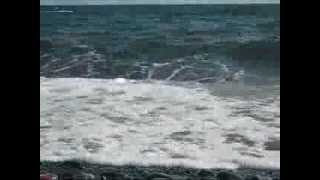Ocean Waves, Relaxing Music and Indian Drone! (Tambura)  Great for Meditation or Yoga!