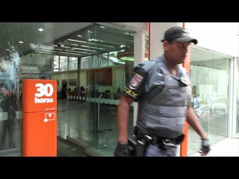 Tiroteio Saidinha Banco feridos banco Itau
