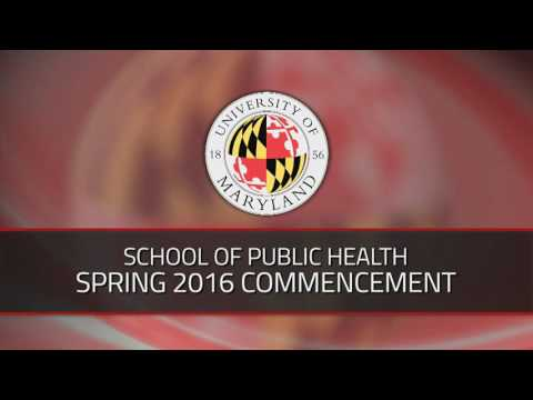 School of Public Health Spring 2016 Commencement