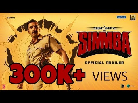 Simmba | Theme Song | Aala Re Aala Simmba Aala | Ranveer Singh |