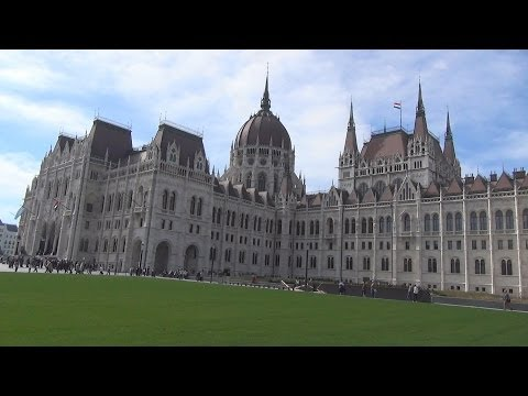 Hungarian Parliament Building (AMAZING Walking Tour!!!)