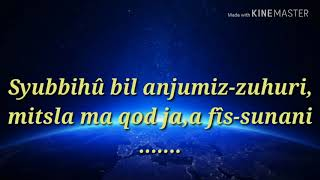 Lirik Sholawat Ya Rasulullah Versi Tum Hi Ho
