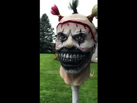 TWISTY THE CLOWN! How to Build a Motorized Life Size Halloween Prop
