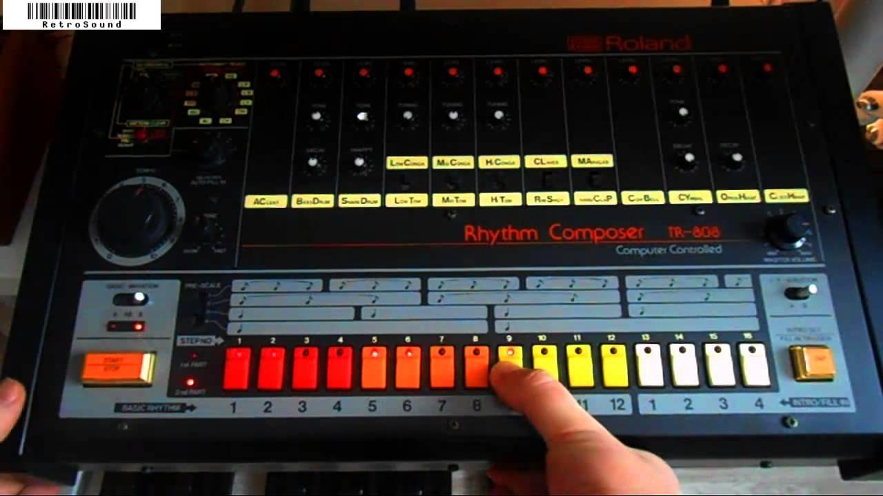 Roland TR 808 Analog Rhythm Composer