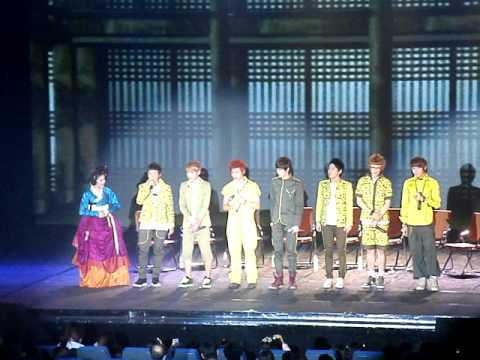 Block B interview by Ms. Grace Lee @ Korean Cultural Concert