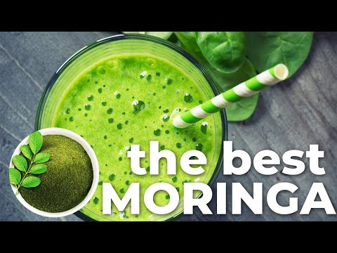 How to make Moringa smoothie with organic Moringa powder