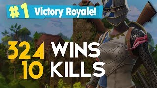 SOLO-10 KILLS-324 WINS (Fortnite Battle Royale free) [PT-BR]-Softe