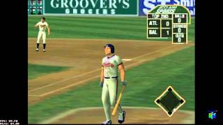 All-Star Baseball 2000 N64 ATL vs BAL
