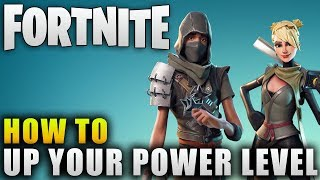 """Fortnite Guide """"How To Level Up Power Levels Effectively"""" Fortnite Survivor Squads Guide"""