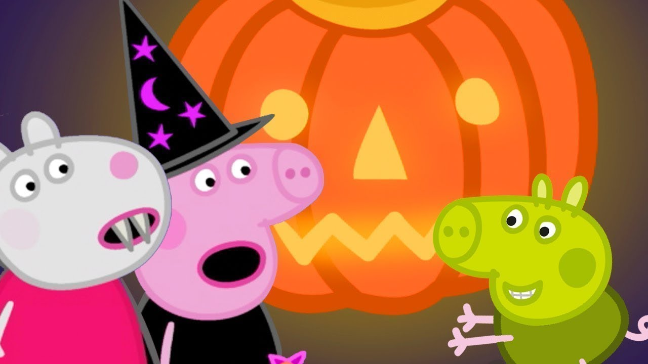 Peppa Pig Official Channel ? Peppa Pig and Suzy Sheep's Pumpkin Party | Halloween Special ?