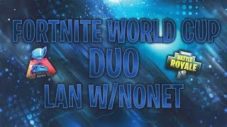 🔴 FORTNITE WORLD CUP QUALI DUO /w N0net 🔴 !gw @vbucks.rs !game