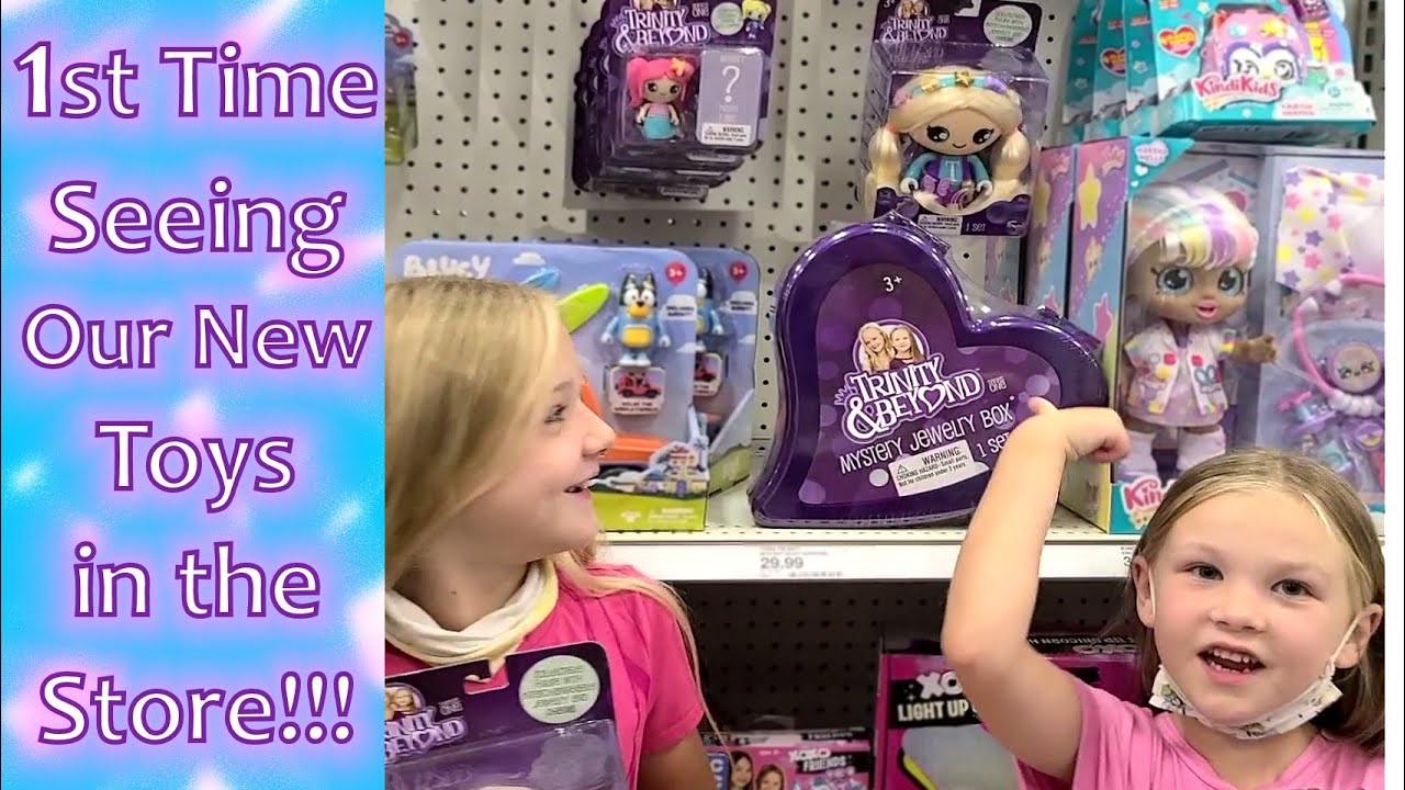 Seeing Our Toys in Stores for the First Time!!!