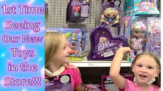 Seeing Our Toys in Stores for …