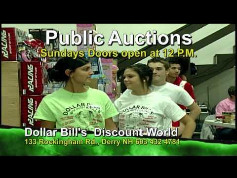 New Dollar Bill Public Auction Promo