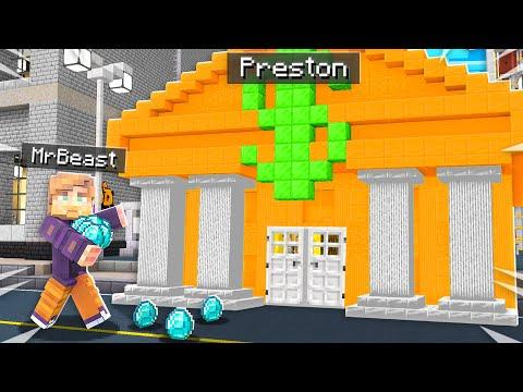 7 Ways To Steal MrBeast's Diamonds In Minecraft!