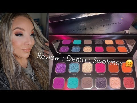 Dominique Cosmetics Celestial Storm Eyeshadow Palette: Review : Demo : Swatches thumbnail