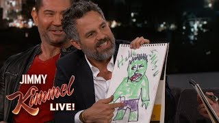 Cast of Avengers: Infinity War Draws Their Characters thumbnail
