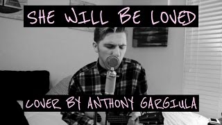 """She Will Be Loved"" - Maroon 5 Ukulele Cover // Anthony Gargiula"