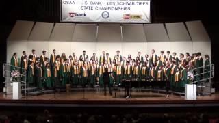 CHS A-Choir, 2014 State Championships - Abendleid