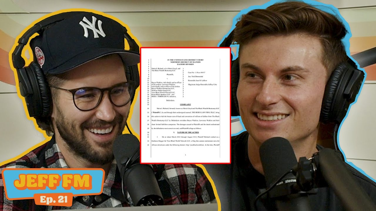 Download WE'RE GETTING SUED   JEFF FM   Ep.21