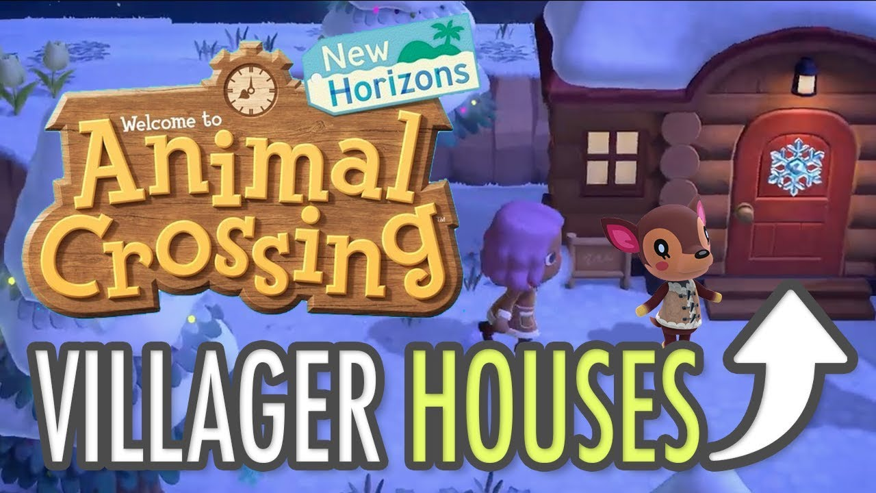 Animal Crossing New Horizons Villager Houses Youtube