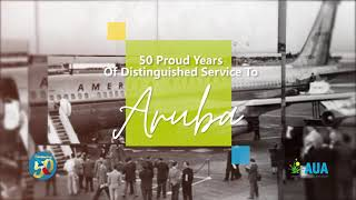 American Airlines 50 Years of Service to Aruba