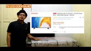 TV led Coocaa 40 Inch, HARGA MURAH, REVIEW PENGGUNAAN