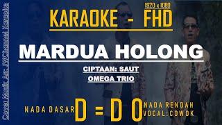 Karaoke Mardua Holong, Omega Trio, Versi Keyboard , Lirik Berjalan, HQ Audio