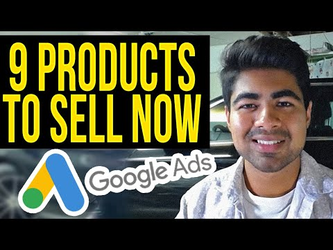 Top 9 Products To Sell With Google ADs | Shopify Dropshipping Tutorial thumbnail
