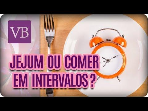 Jejum Intermitente Ou Comer de 3 Em 3 Horas? - Você Bonita (09/10/17)
