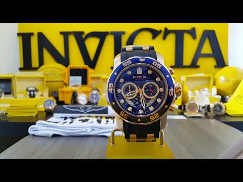 Relógio invicta pró diver 21929 original / www.lojadosrelogios