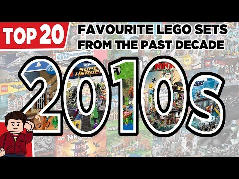 My Top 20 Favourite LEGO Sets From The Past Decade