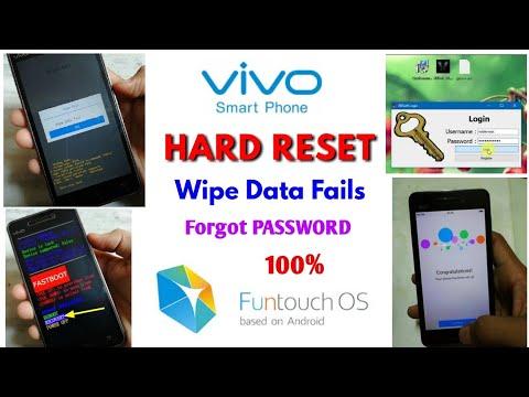 VIVO Phone HARD Reset | Wipe Data Fails | VIVO V9 V5 V3 Y53 Y55 Y51 Y31 Y31  | Funtouch OS