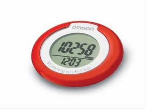 omron walking style one pedometer with step counter sensor. Black Bedroom Furniture Sets. Home Design Ideas