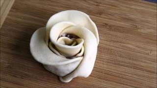 Манты розы. Манты розочки.