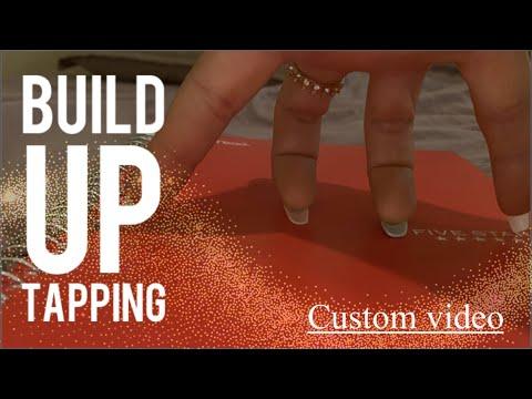 ASMR: 15 mins of lofi build up tapping/scratching! Katherine's Custom video! (No talking)