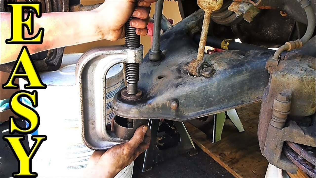 How to Replace a Lower Ball Joint (short, quick version ...
