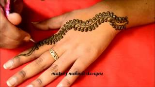Easy Simple Mehndi Design*Easy Mehndi Designs For Hands*Mehndi Design