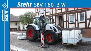 Stehr Plattenverdichter SBV 160-3 W ( + Wassersprüheinrichtung )