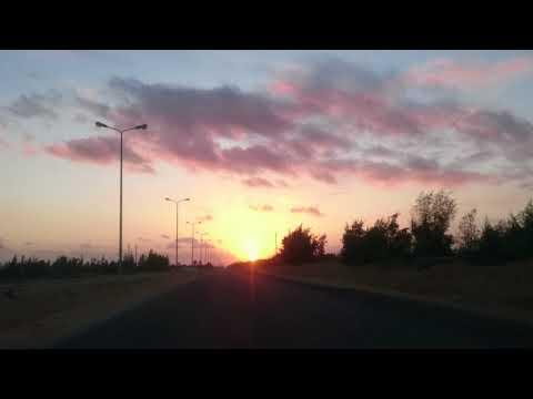 Sunrise from Borg El Arab شروق الشمس من برج العرب