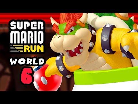 Super Mario Run - World 6 - Bowser Beat Down