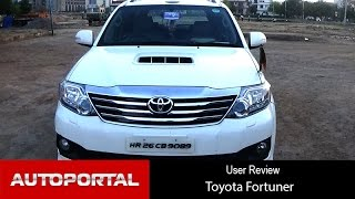 Toyota Fortuner 4x4 User Review -'reliable name' - Autoportal
