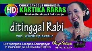 DITINGGAL RABI (HD) Karawitan Kartika Raras Cokek Dangdut Indonesia