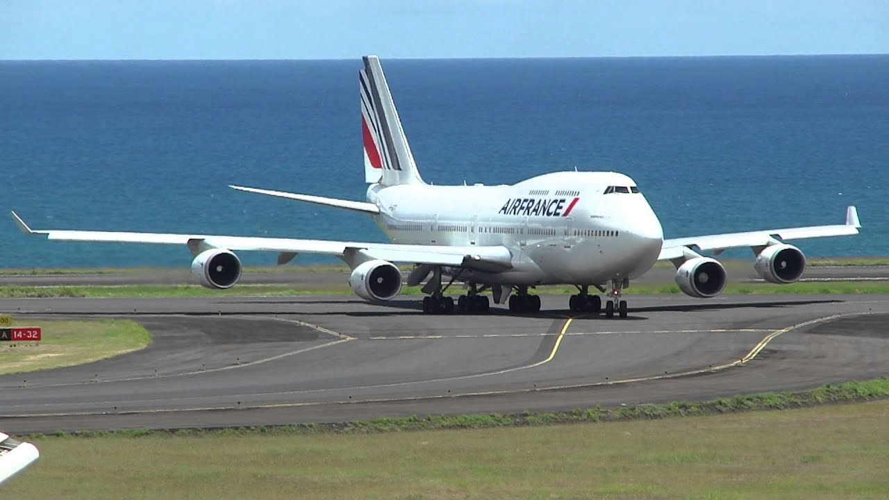 Atterrissage boeing 747 400 air france 3580 roland for Interieur 747 air france