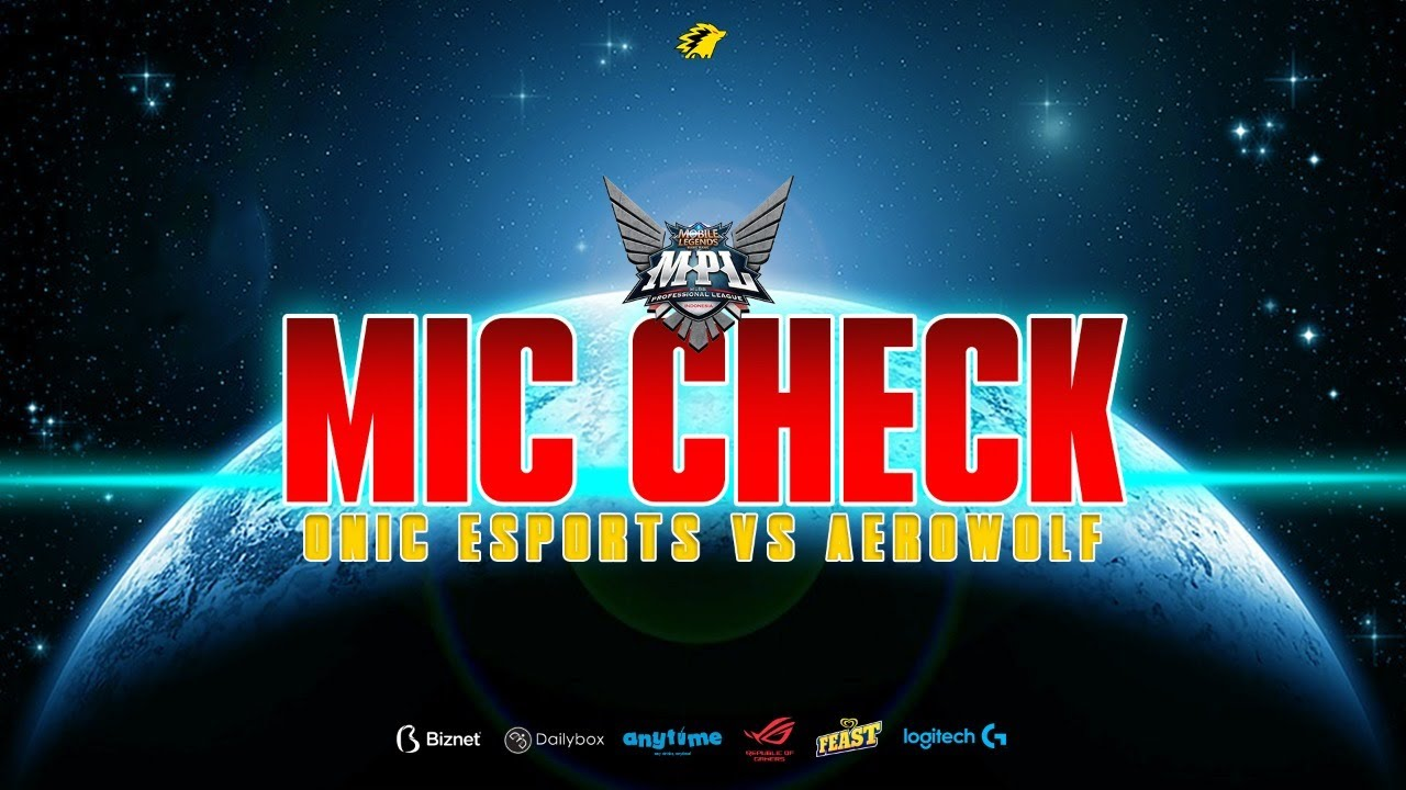 Download MASIH KALAH JUGA??? - THE ULTIMATE MIC CHECK ONIC VS AEROWOLF MPL S7 WEEK 6