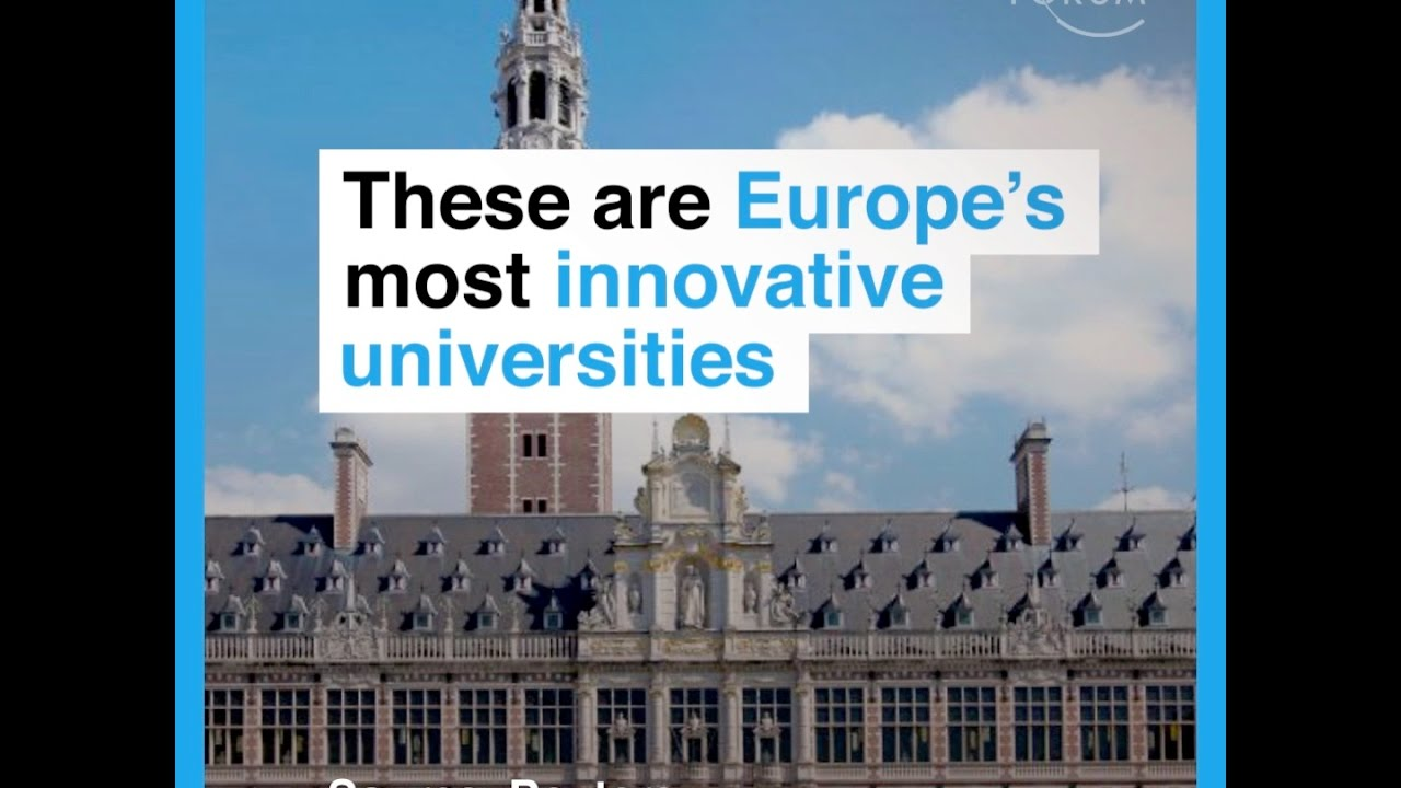 These are Europe's most innovative universities