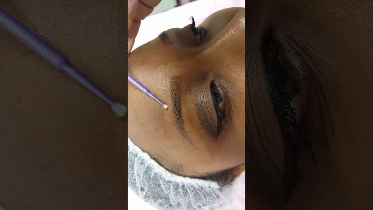 Shaded PMU Strokes on Dark Skin PMU by El Truchan @ Perfect Definition