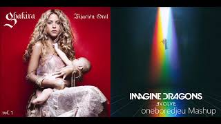Torturous Thunder - Shakira vs. Imagine Dragons (Mashup)
