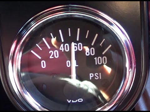 Oil Pressure Gauge Install  YouTube