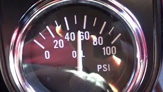 Oil Pressure Gauge Install(Installing a VDO elect. oil Pres. Gauge on 800 Baja engine. Includes start to finish random advice on everything from soup to nuts..... Remember: I supply the info ..., 2016-04-21T14:30:34.000Z)